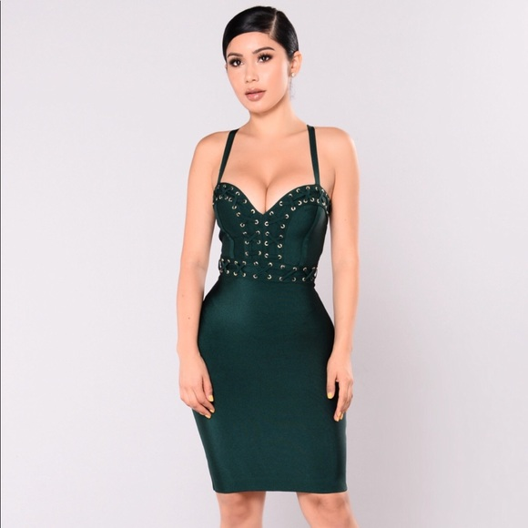 8ae3ceb5ea Fashion Nova Nightingale Bandage Dress